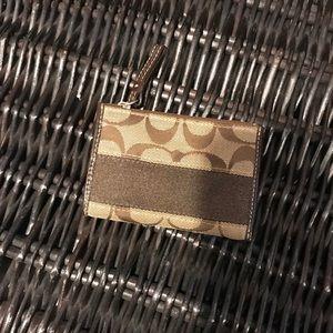 Classic Coach Mini Wallet